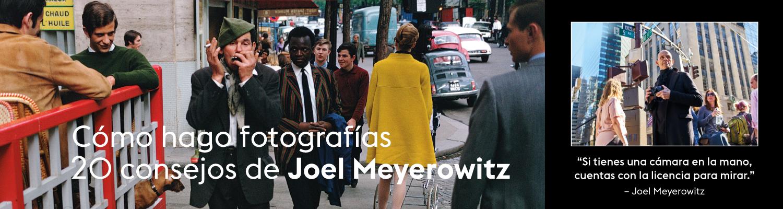 Cómo hago fotografías, un libro de Joel Meyerowitz