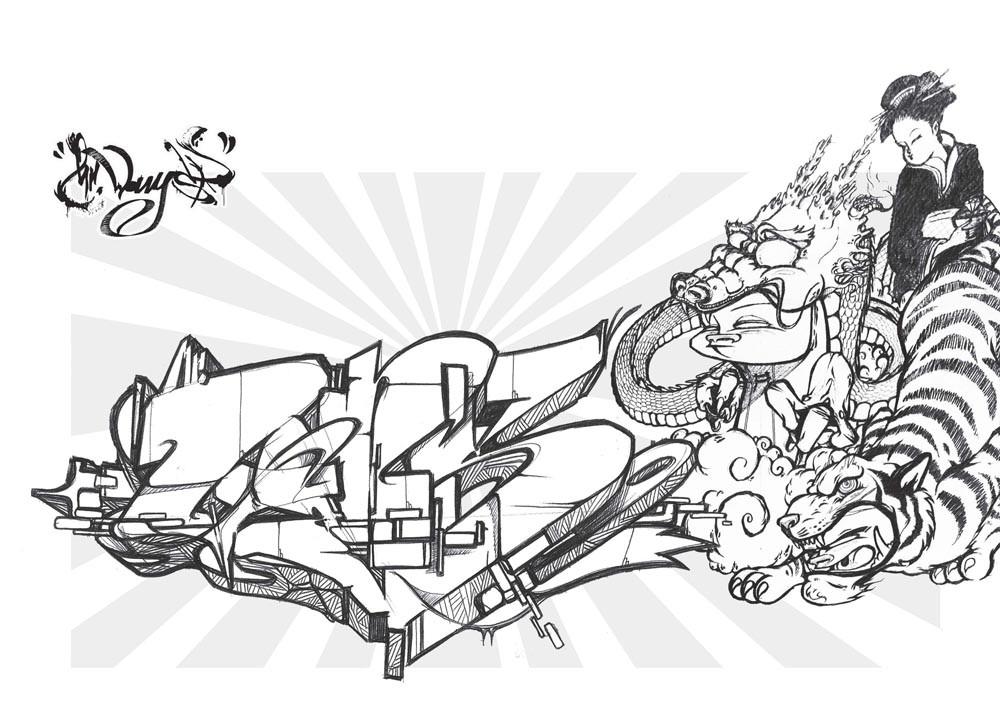 Grafites Para Colorir De Editorial Gg