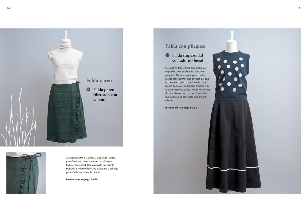 Faldas con estilo, de Sato Watanabe - Editorial GG