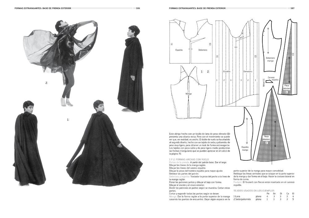 Tejido, forma y patronaje plano, de Winifred Aldrich - Editorial GG