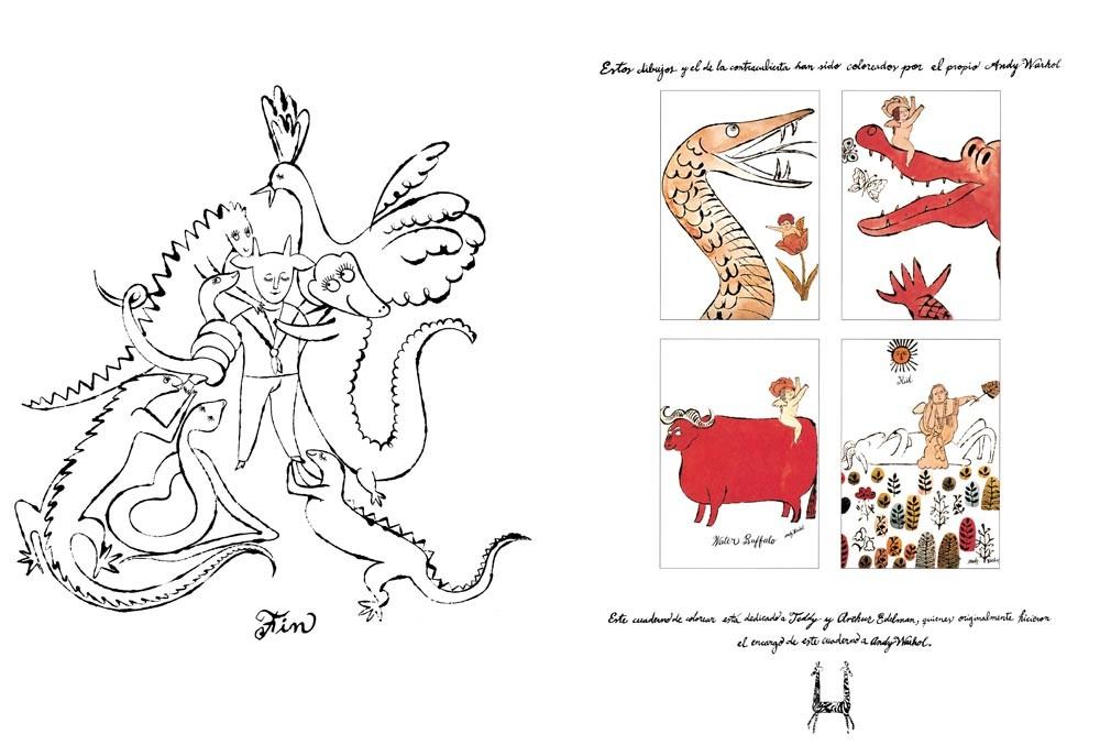 Un libro para colorear, de Andy Warhol - Editorial GG