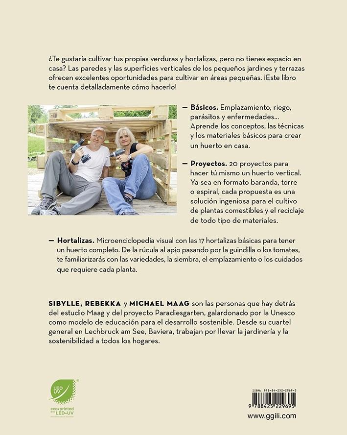 Como Construir Un Huerto Vertical De Sibylle Rebekka Y Michael