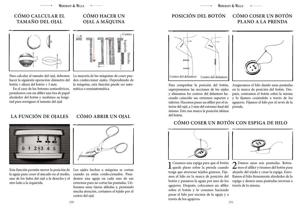 Principios básicos de costura, de Carolyn N. K. Denham - Editorial GG