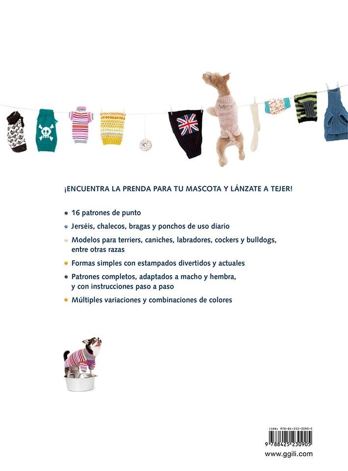Prendas de punto para perros, de Tomoko Hyômori - Editorial GG