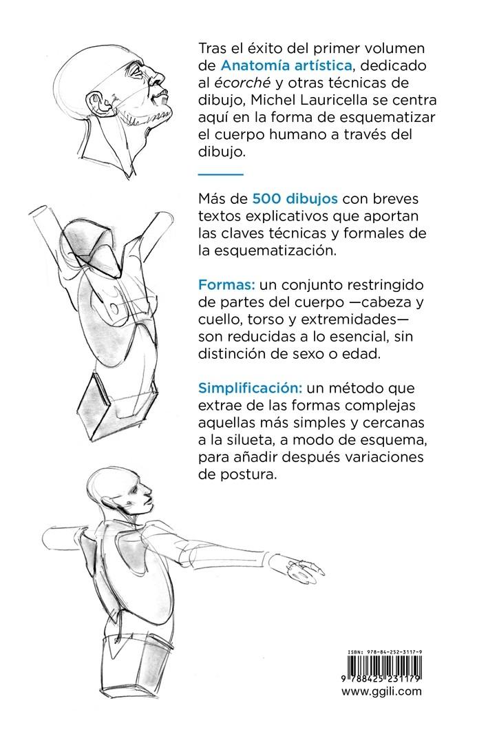 Anatomía artística 2, de Michel Lauricella - Editorial GG