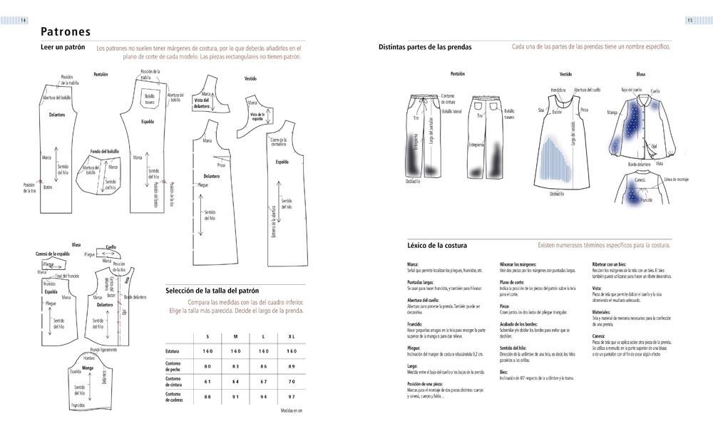 Atractivo Cómo Leer Un Patrón De Costura Composición - Manta de ...