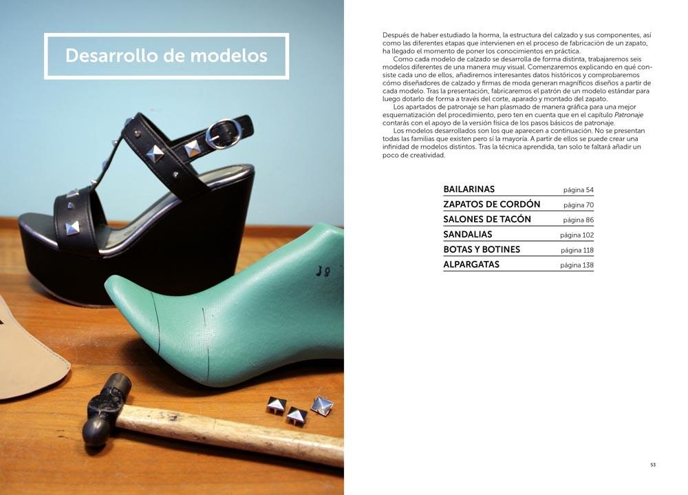 Patronaje y confección de calzado, de Natalio Martín - Editorial GG