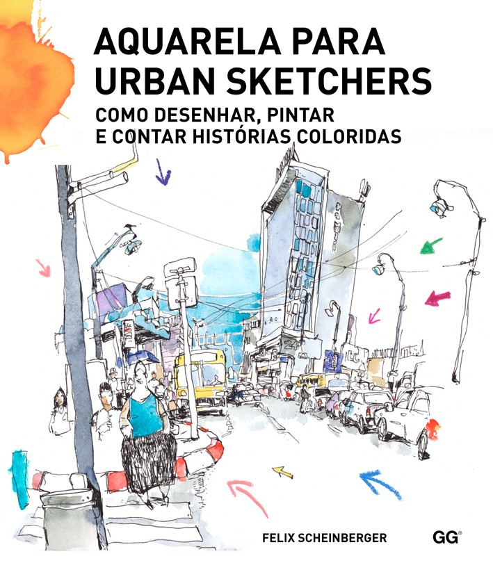 Aquarela para urban sketchers
