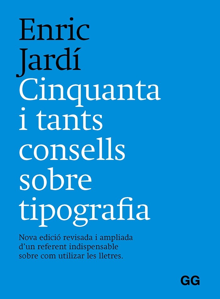 Cinquanta i tants consells sobre tipografia