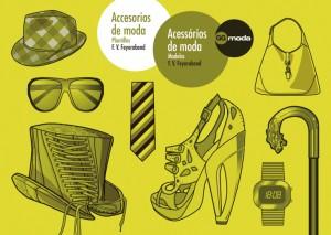 Accesorios de moda. Acessórios de moda