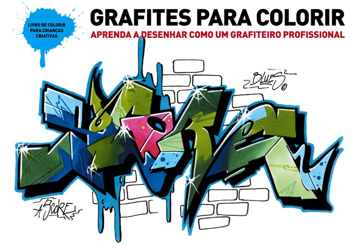 Grafites para colorir