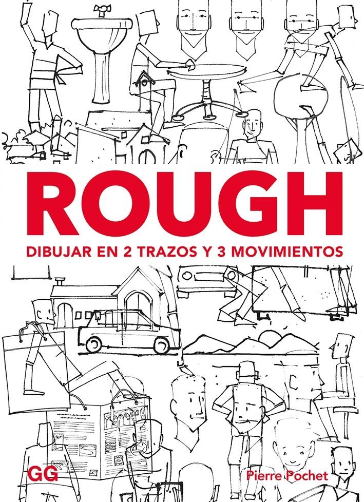 Rough. Dibujar en 2 trazos y 3 movimientos
