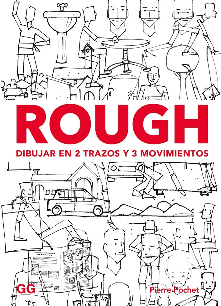 Rough. Dibujar en 2 trazos y 3 movimientos