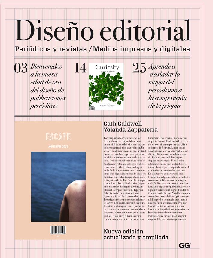 diseño editorial, de cath caldwell, yolanda zappaterra - editorial gg