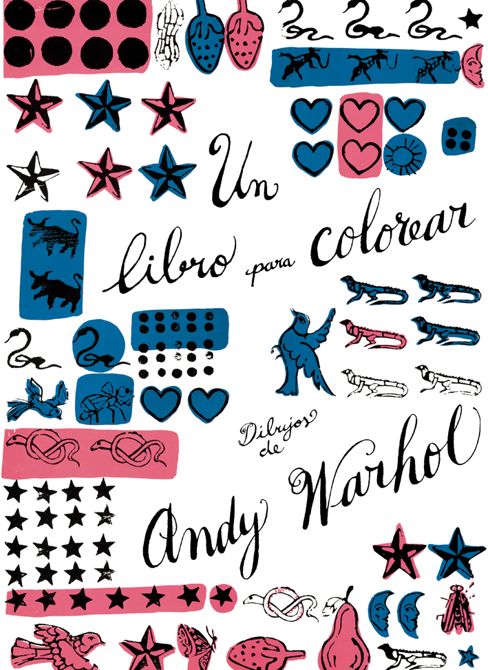 Un libro para colorear, de Andy Warhol - Editorial GG