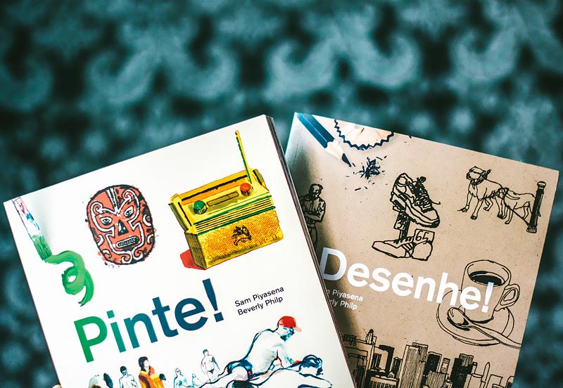 Indicação da parceira: Hey Street sobre os livros Pinte e Desenhe