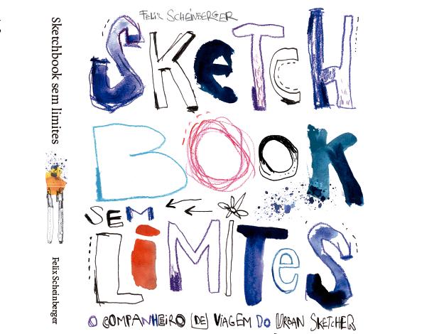 """Em Setembro o autor dos livros """"Aquarela para Urban sketchers e Sketchbook sem limites"""" estará aqui em SP"""