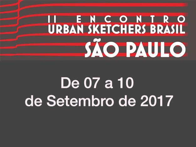 II Encontro de Urban Sketchers Brasil em SP