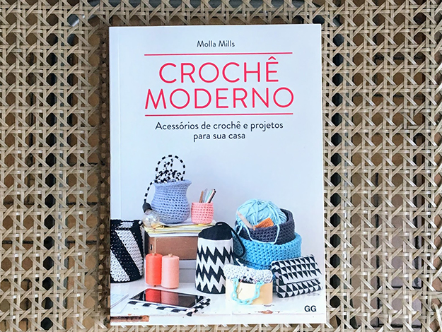 Indicação da parceira: Tricô, chá e gatos sobre o livro Crochê moderno