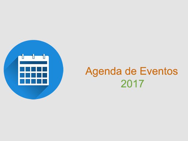Agenda de eventos 2017