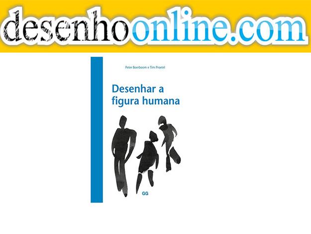 Indicação do Parceiro: Desenho Online sobre o livro Desenhar a Figura Humana