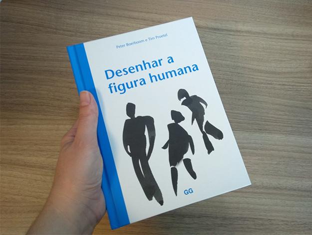 Indicação do Parceiro: Clique Arquitetura sobre o livro Desenhar a figura humana