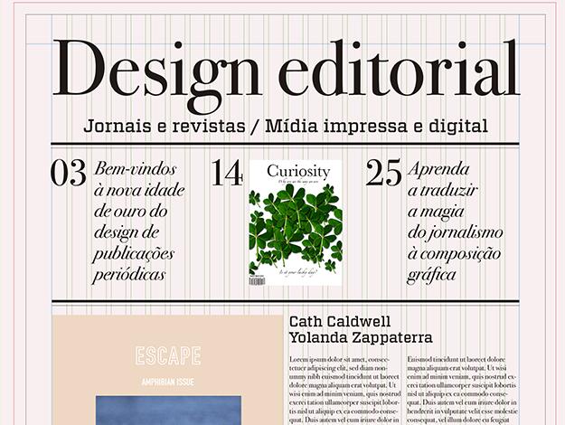 Indicação do Parceiro: Chief of Design sobre o Design editorial
