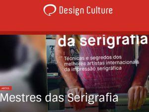 Indicação do Parceiro  Design Culture sobre o livro Mestres da serigrafia ef83473368cba