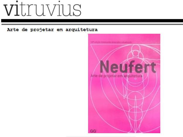 Indicação do Parceiro: Vitruvius sobre o livro Arte de Projetar em Arquitetura