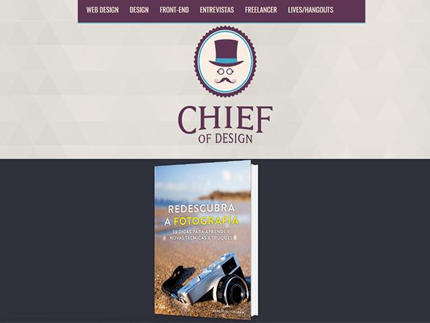 Indicação do Parceiro: Chief of Design sobre o livro Redescubra a fotografia