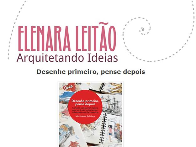 Indicação da Parceira: Arquitetando Ideias sobre o livro Desenhe primeiro, pense depois