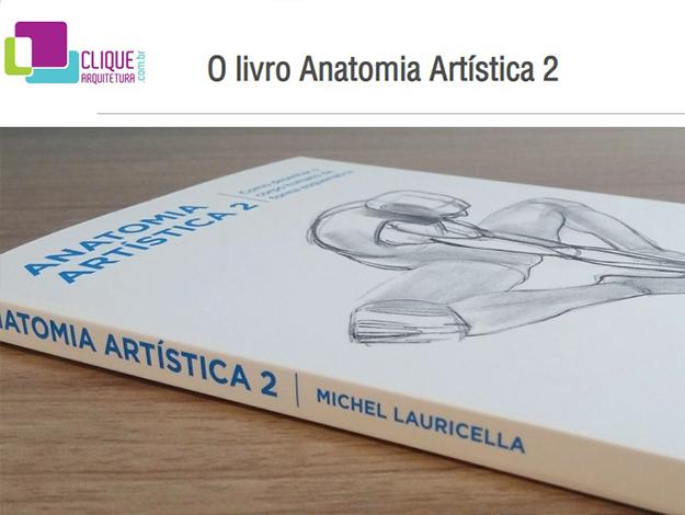 Indicação do parceiro: Clique a arquitetura sobre o livro Anatomia artística 2