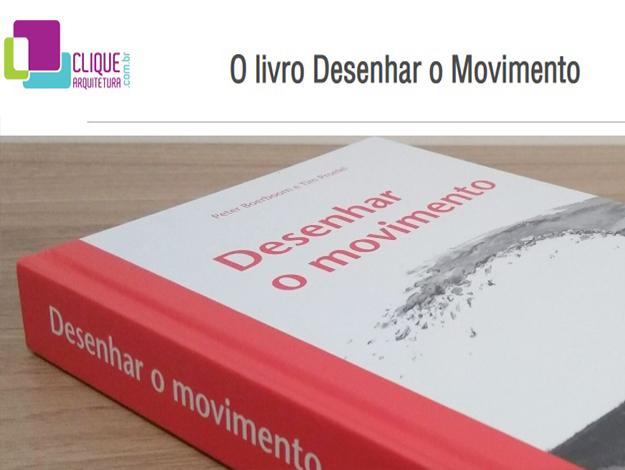 Indicação do parceiro: Clique a arquitetura sobre o livro Desenhar o movimento