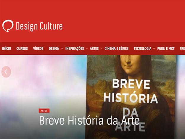 Indicação do Parceiro: Design Culture sobre o livro Breve história da arte