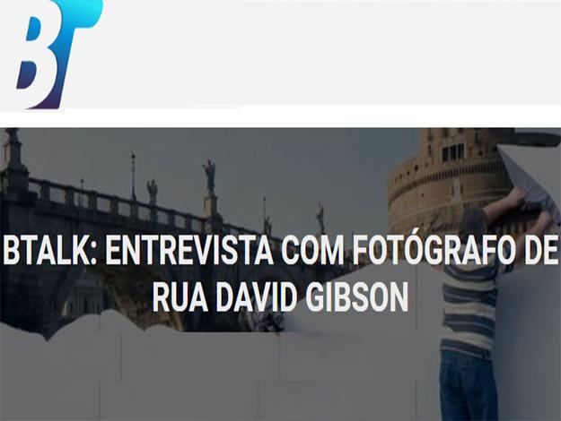 Indicação do Parceiro: Bons Tutoriais, entrevista com Fotógrafo de rua David Gibson