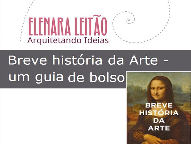 Indicação do Parceiro: Arquitetando Ideias sobre o livro Breve Historia da Arte