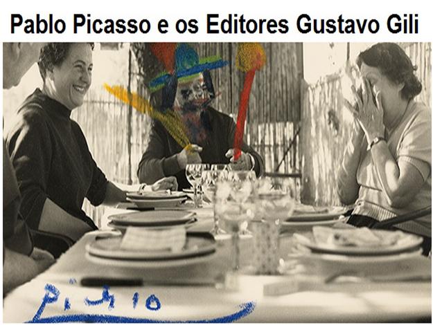 MUSEU PICASSO FAZ EXPOSIÇÃO DE PABLO PICASSO E OS EDITORES GUSTAVO GILI. TRABALHO E AMIZADE