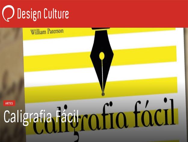 Indicação do Parceiro: Design Culture sobre o livro Caligrafia Fácil