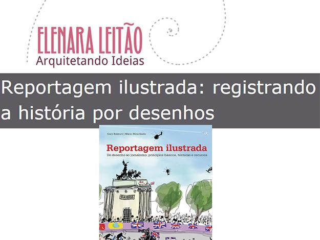 Indicação da parceira: Arquitetando Ideia sobre o livro Reportagem ilustrada