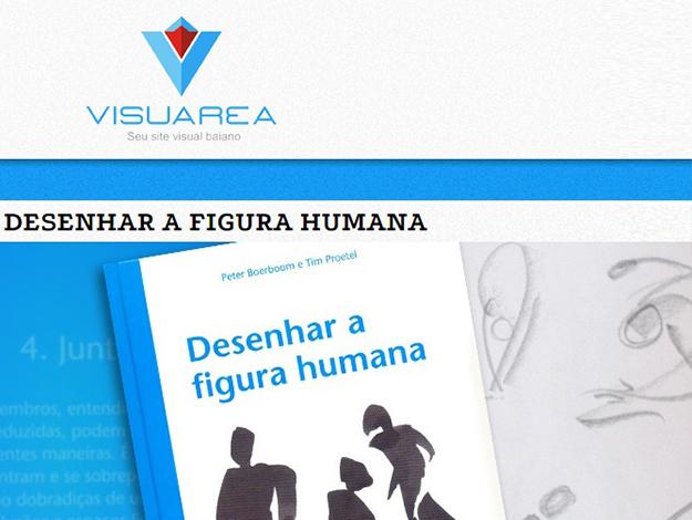 Indicação do Parceiro: Visuarea sobre o livro Desenhar a Figura Humana