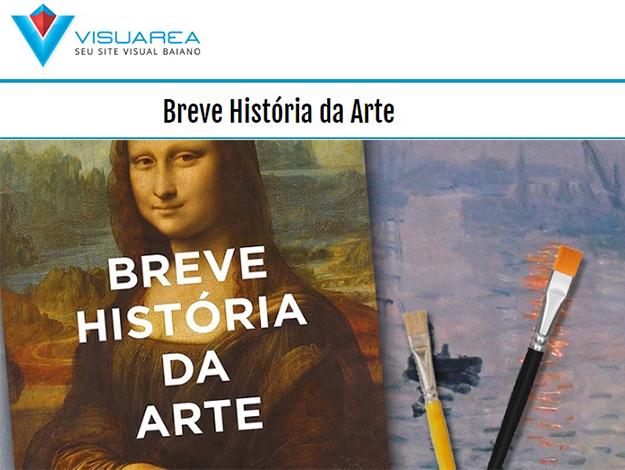 Indicação do parceiro: Visuarea sobre o livro Breve história da arte