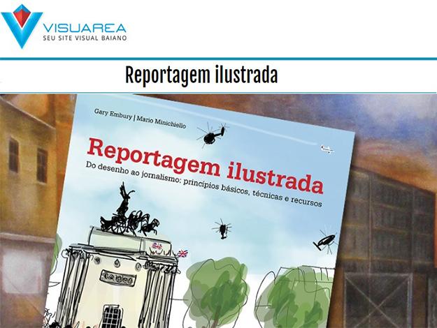Indicação do parceiro: Visuarea sobre o livro Reportagem ilustrada