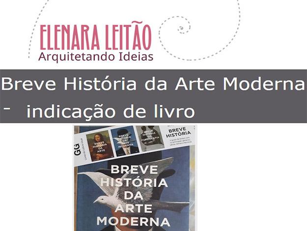 Indicação da parceira: Arquitetando ideias sobre o livro Breve história da arte moderna