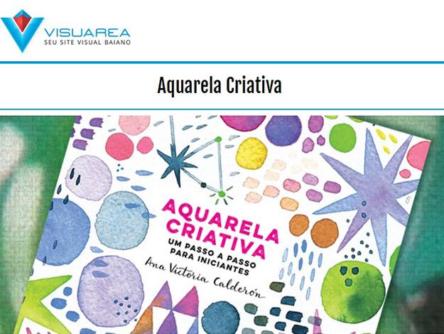 Indicação do parceiro: Visuarea sobre o livro Aquarela criativa