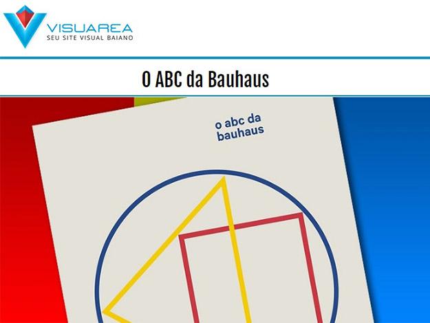 Indicação do parceiro: Visuarea sobre o livro O ABC da Bauhaus