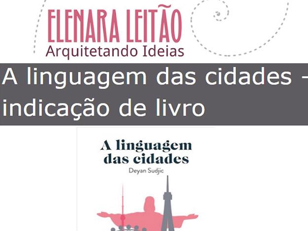 Indicação da parceira: Arquitetando ideias sobre o livro A linguagem das cidades
