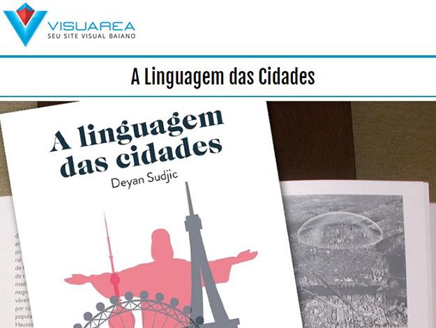 Indicação do parceiro: Visuarea sobre o livro A linguagem das cidades