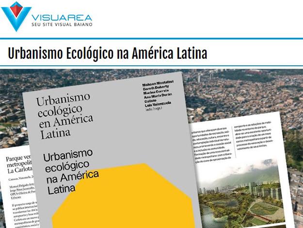 Indicação do parceiro: Visuarea sobre o livro Urbanismo ecológico na América Latina