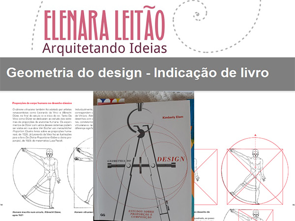 Indicação da parceira: Arquitetando Ideias sobre o livro Geometria do design