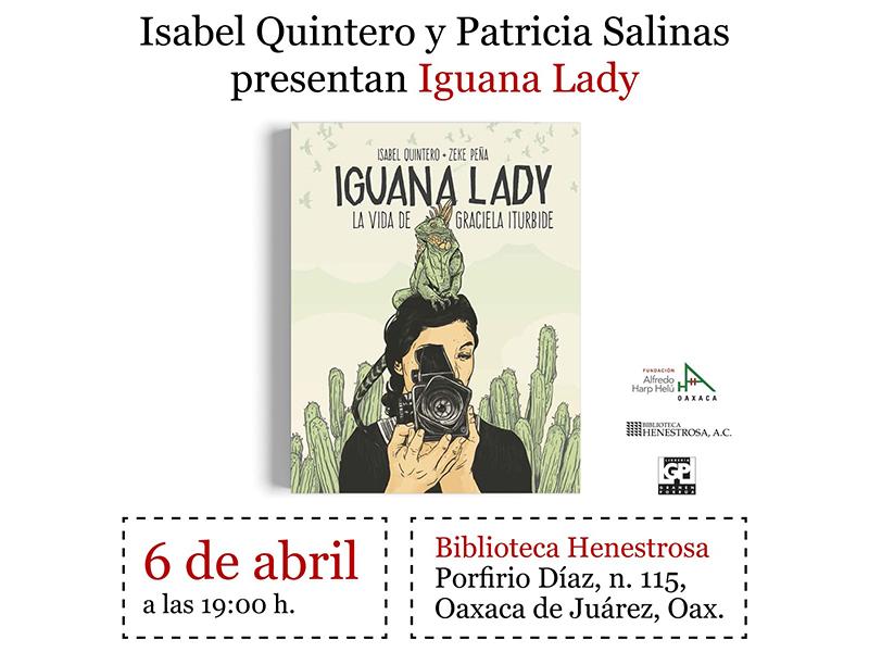 6/04 Presentación de 'Iguana Lady' con Isabel Quintero y Patricia Salinas